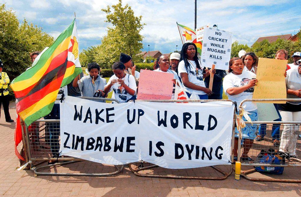 Ο θανατηφόρος αγώνας της Ζιμπάμπουε