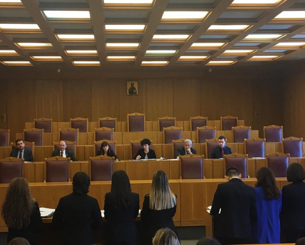 Οι διεργασίες της διοικητικής δίκης στον 5ο Εθνικό Διαγωνισμό Εικονικής Δίκης