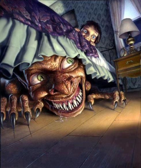 Το τέρας κάτω από το κρεβάτι