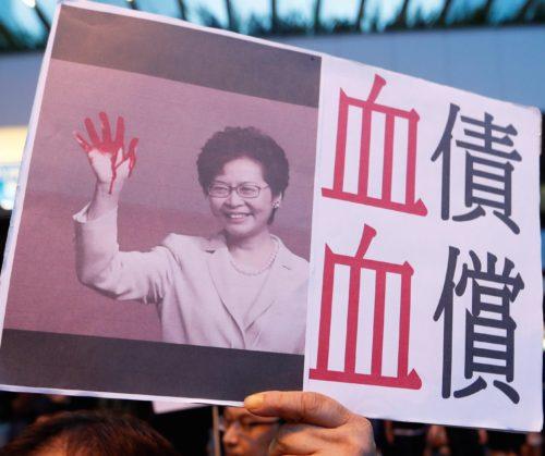 Κάρι Λαμ: Απόσυρση νομοσχεδίου για έκδοση κρατουμένων στην Κίνα