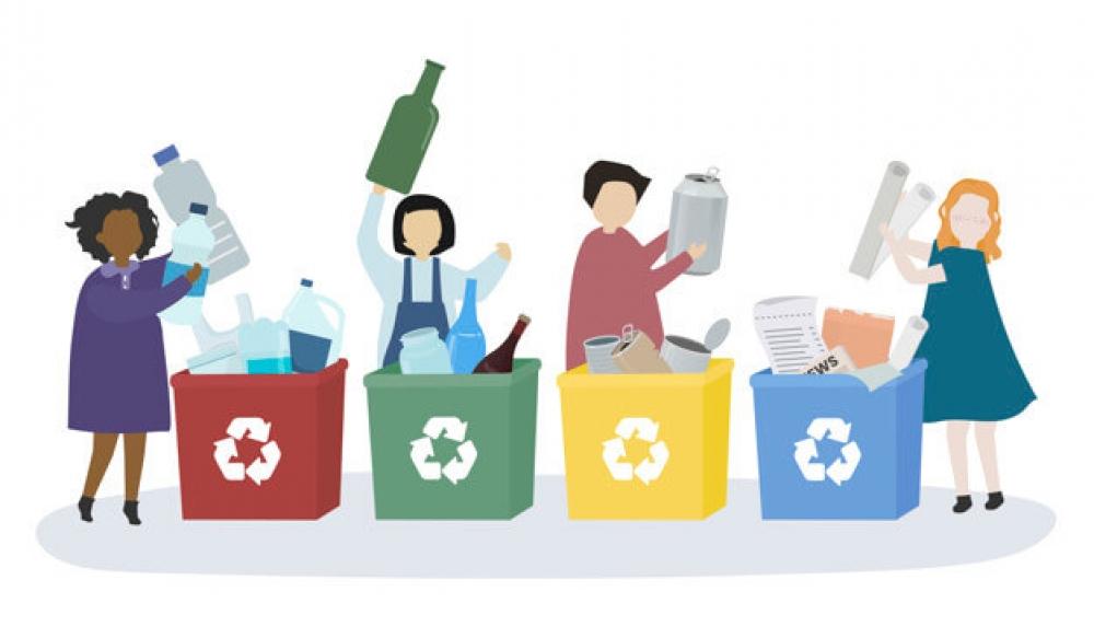 Τα σκουπίδια δεν είναι για πέταμα!
