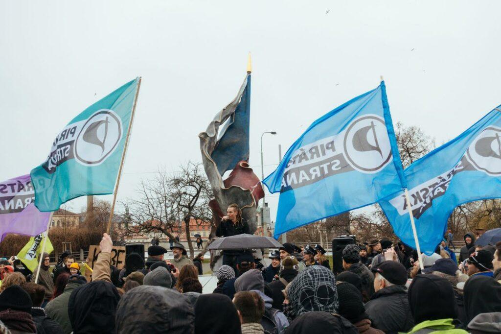 Οι πειρατές του Μολδάβα: η άνοδος του Τσεχικού Πειρατικού Κόμματος