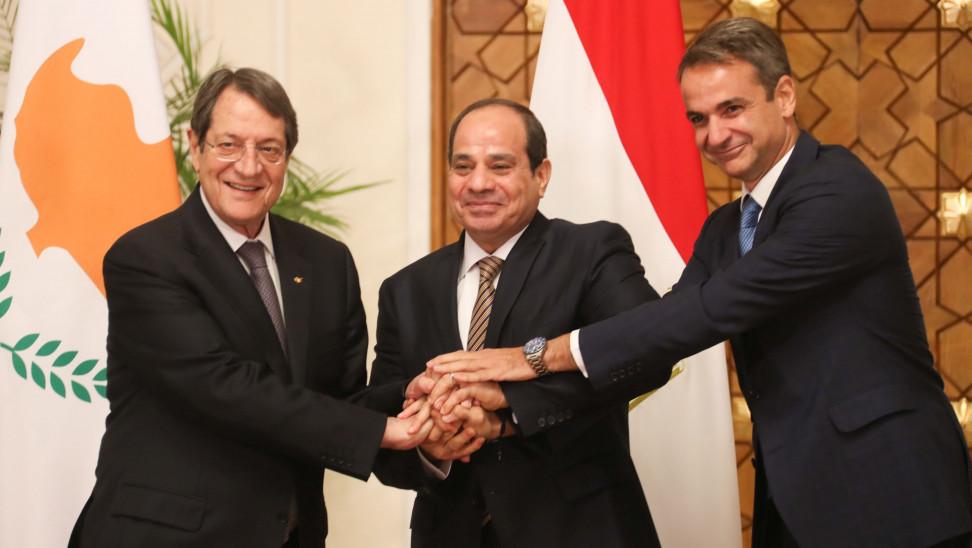 Η Ελλάδα στην Ανατολική Μεσόγειο και η συνεργασία με Αίγυπτο και Κύπρο