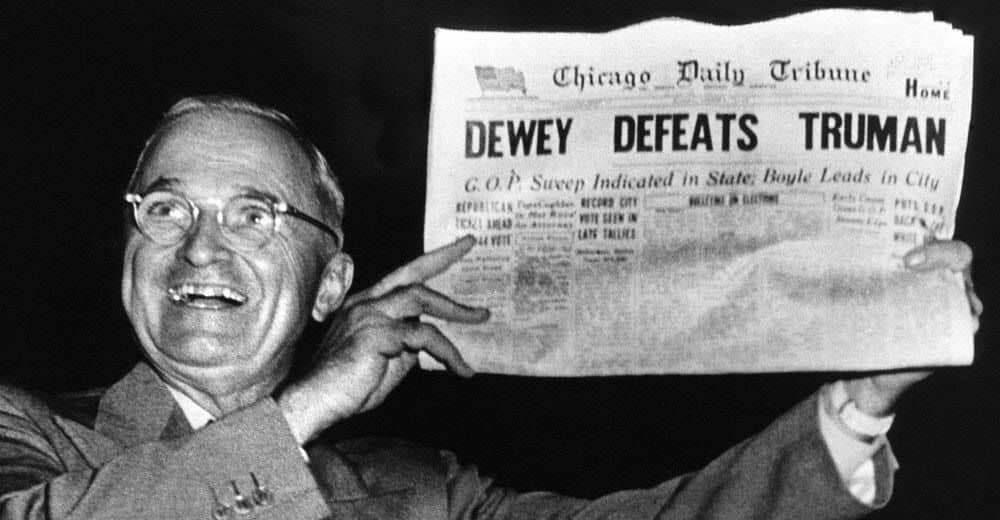 Οι εκλογές του 1948: Το θαύμα του Τρούμαν