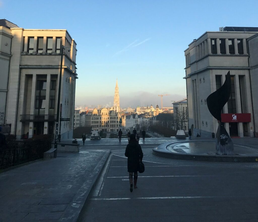 Το ταξίδι μου στο Βέλγιο