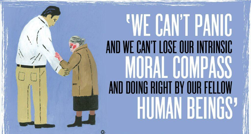 Το ηθικό υπόβαθρο της πανδημίας