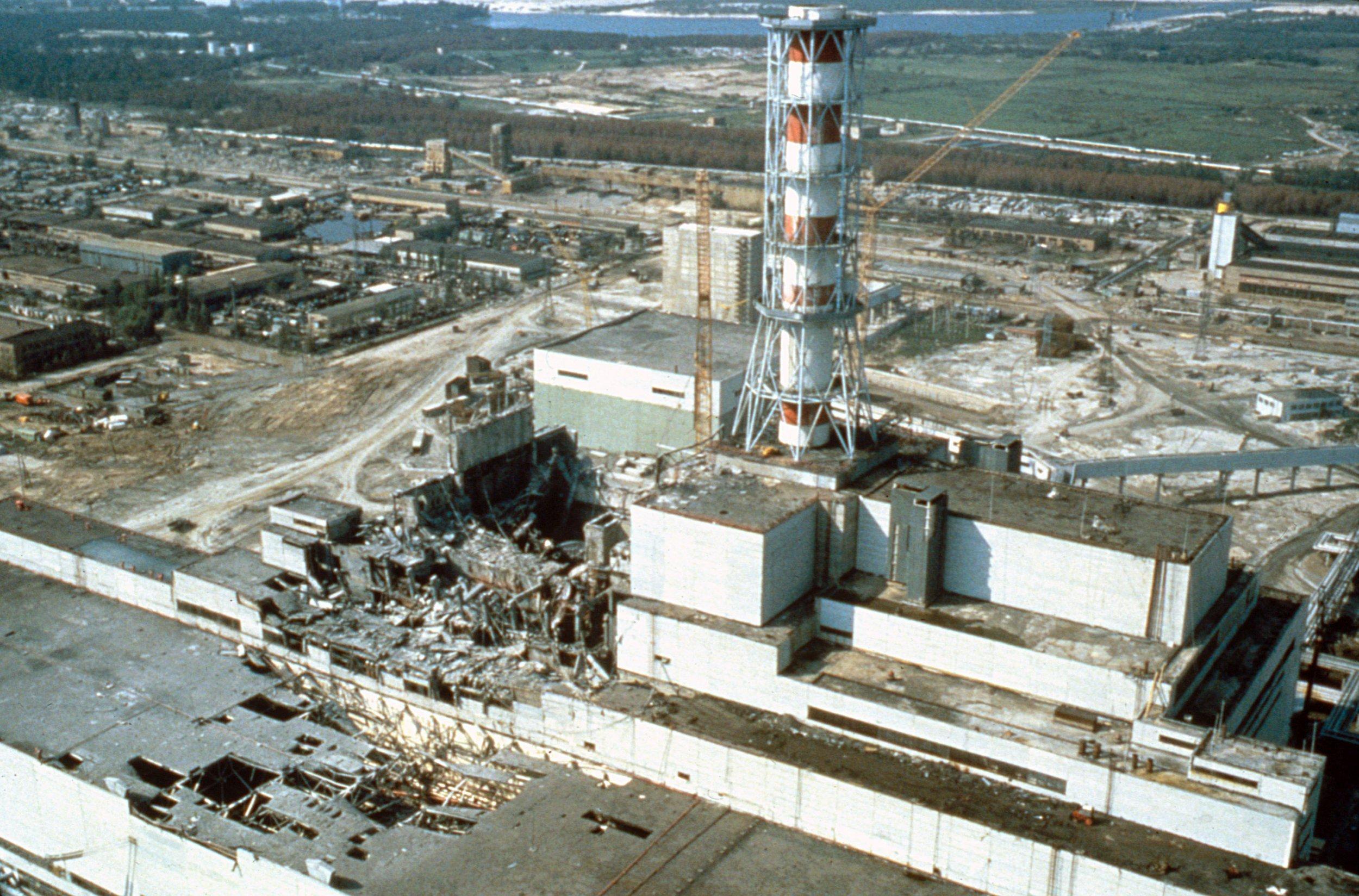 Το πυρηνικό ατύχημα του Τσερνόμπιλ   offlinepost