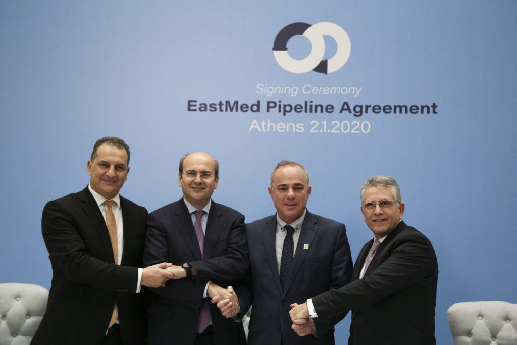 Αγωγός EastMed και η ενεργειακή ασφάλεια της Ευρώπης