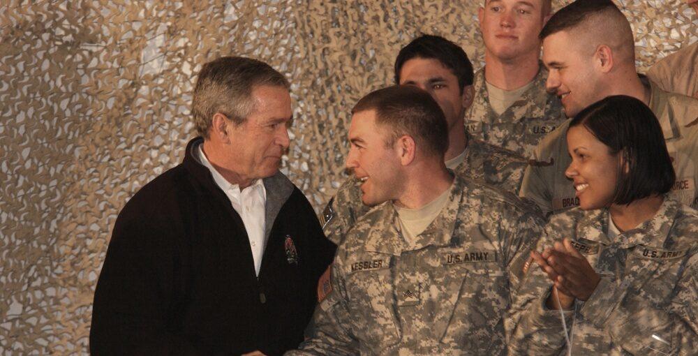 Η Κυβέρνηση του George W. Bush και η επέμβαση των ΗΠΑ στο Αφγανιστάν