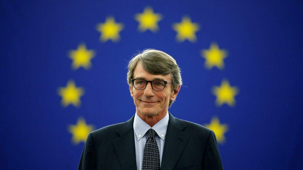 Ο νυν Πρόεδρος του Ευρωκοινοβουλίου: David Sassoli
