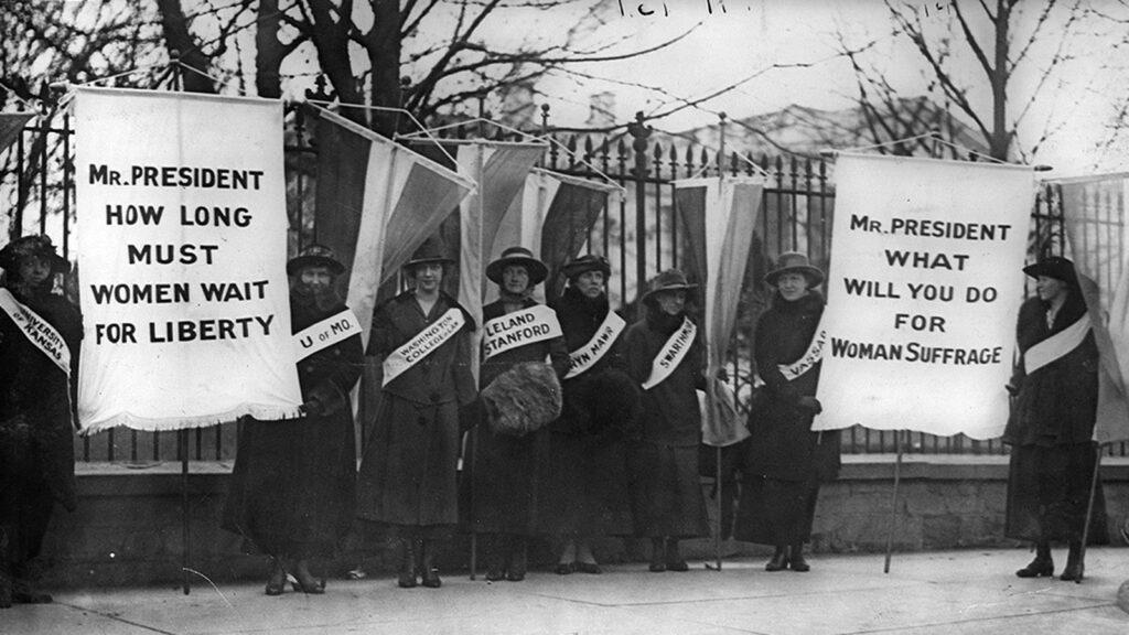 Η 19η Τροπολογία: η ψήφος στα χέρια των γυναικών