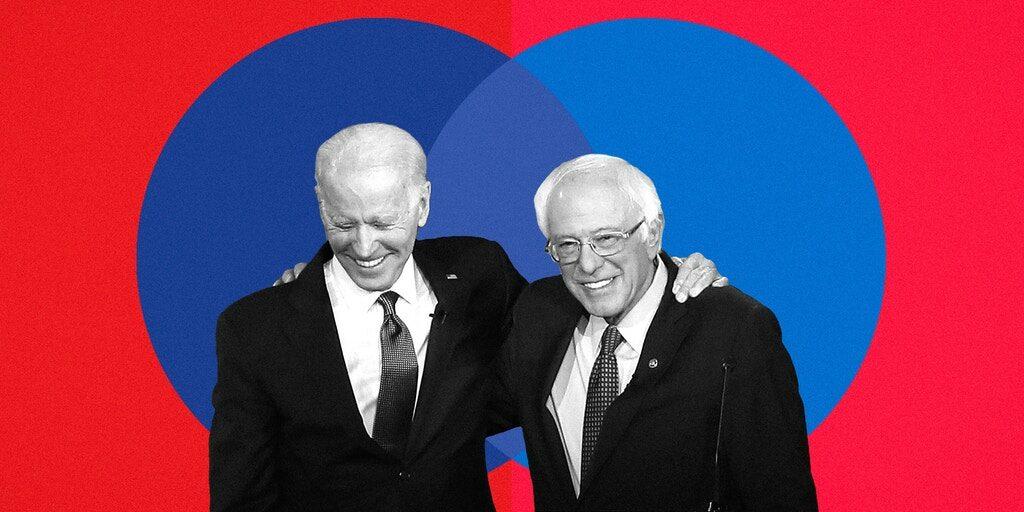 Biden – Sanders: Είναι ώρα να ενώσουν δυνάμεις