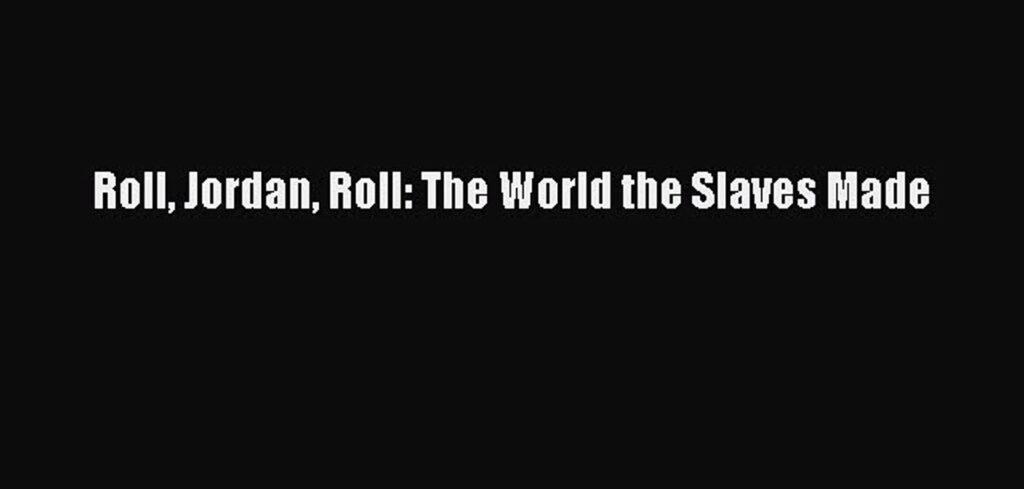 Μια άλλη οπτική για τη δουλεία στην Αμερική
