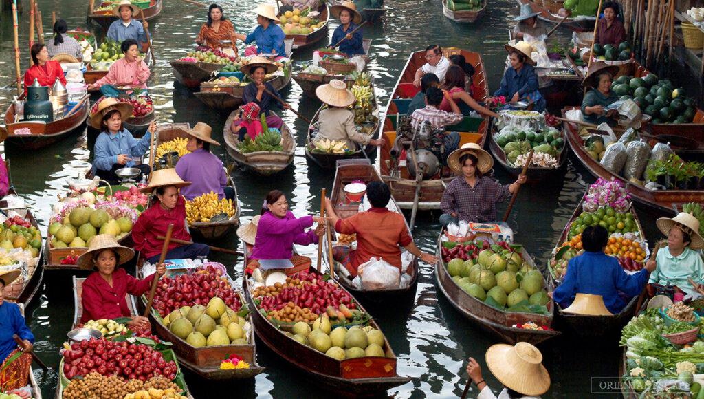Ανακαλύπτοντας τις πλωτές αγορές της νοτιοανατολικής Ασίας