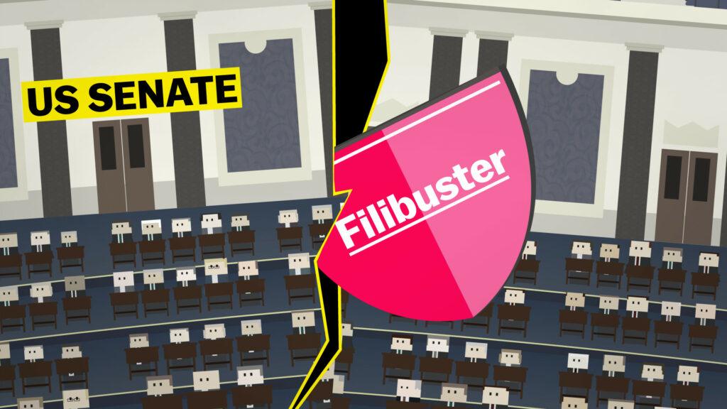 Ο «φλύαρος» θεσμός του κοινοβουλευτικού filibuster