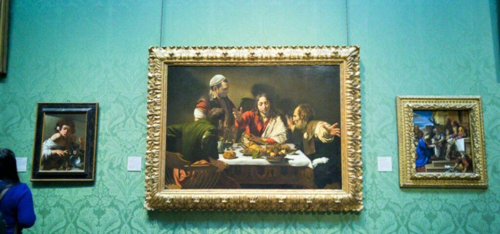 Ο Caravaggio μάς προσκαλεί σε «Δείπνο στους Εμμαούς»