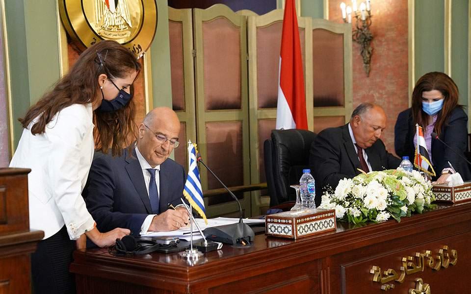 Η Τμηματική Διακήρυξη ΑΟΖ με την Αίγυπτο «σφήνα» νομιμότητας στις έκνομες ενέργειες της Τουρκίας