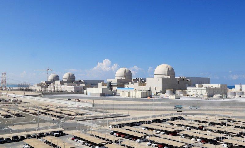 Ηνωμένα Αραβικά Εμιράτα: ο πυρηνικός σταθμός Μπαράκα