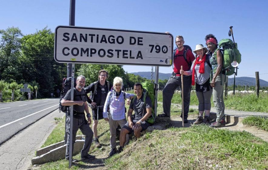 Το περπάτημα προς την Compostela