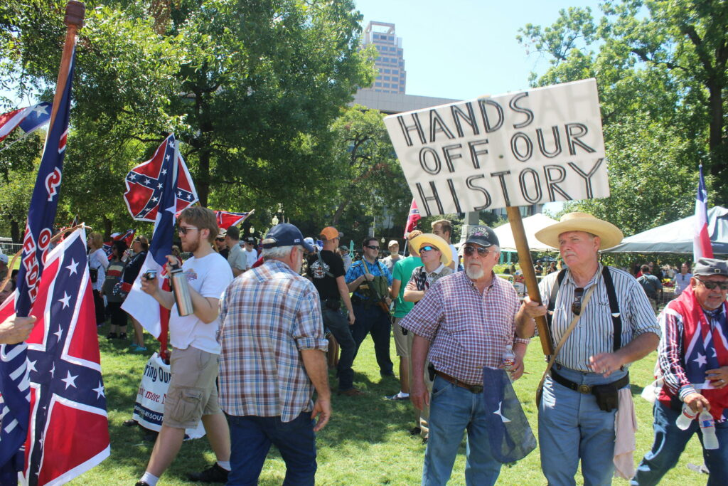 Confederate ghosts still haunt the American psyche